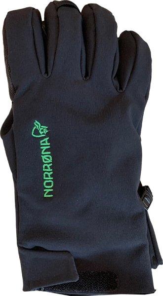 画像1: Norrona Lofoten Gore-Tex Short  Gloves 黒 サイズM (1)